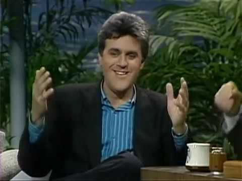Jay Leno Job İnterview On Johnny Carson Display 1988 & Lenos Headlines 1997 Component 1 Of 2