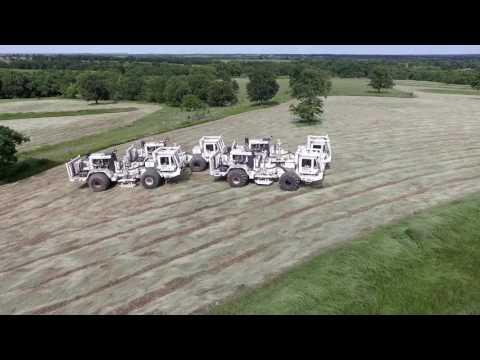 Seismic Survey Thumper Trucks
