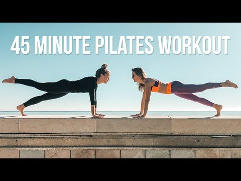 45 MINUTE PILATES WORKOUT!