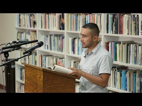 Javier Zamora — The Poetry Center