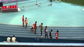 Усейн Болт команда Ямайки в эстафете 4 x 100  ЧМ по легкой атлетике Москва 18.08.13