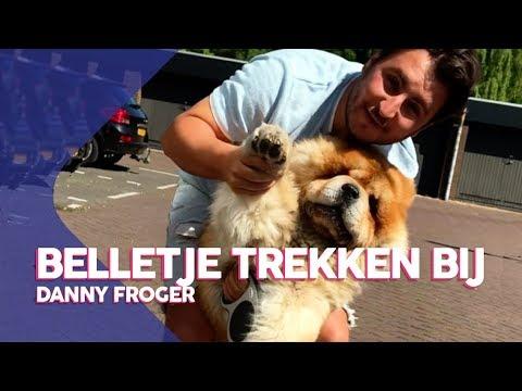Aan de wandel met Danny Froger en hond Sjaak | Belletje trekken bij Danny Froger