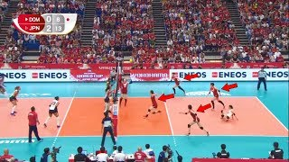 Is Japan The Most Disciplined Team in The World? Best Volleyball Actions (HD)