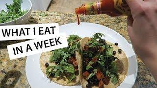 What I Eat In A Week (easy & vegan) #2 | lindseyrem