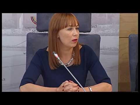 2017-09-28 Švietimo ir mokslo komiteto pirmininko E. Jovaišos spaudos konf.