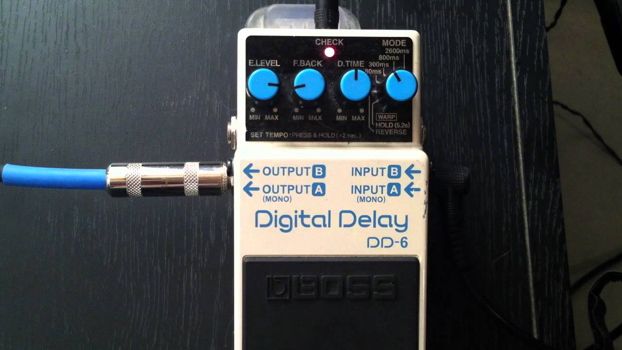 save off retail prices authentic quality Boss DD-6 Digital Delay Demo