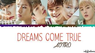 [3.26 MB] ASTRO - Dreams Come True Lyrics [Color Coded Han Rom Eng]