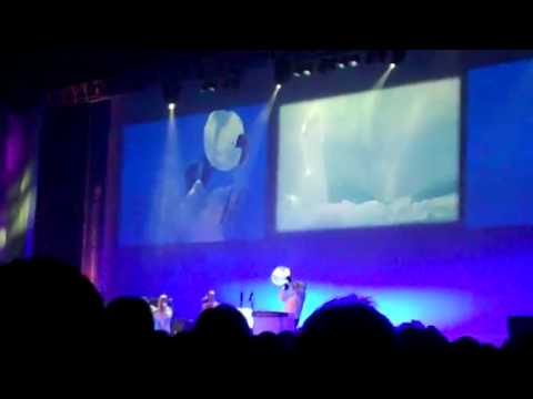 IPY Oslo 2010: opening ceremony: music played on ice pt 2