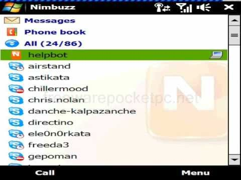 Nimbuzz Free Calling, Chatting And Messaging Software For Mobile Phone
