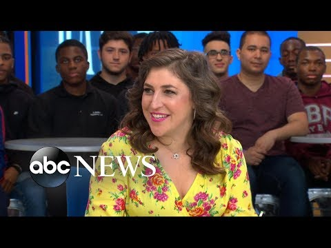 Mayim Bialik shares parenting tips as she talks raising boys in today's world
