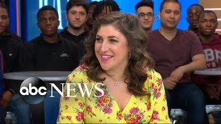 Mayim Bialik shares parenting tips as she talks raising boys in today