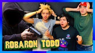 ROBARON LA PC DE LOS CRACKS DE FREE FIRE *broma pesada a Yolo, Nando y Marco**