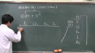 【化学基礎】酸化還元反応⑦(1of2)~酸化剤の強さ~