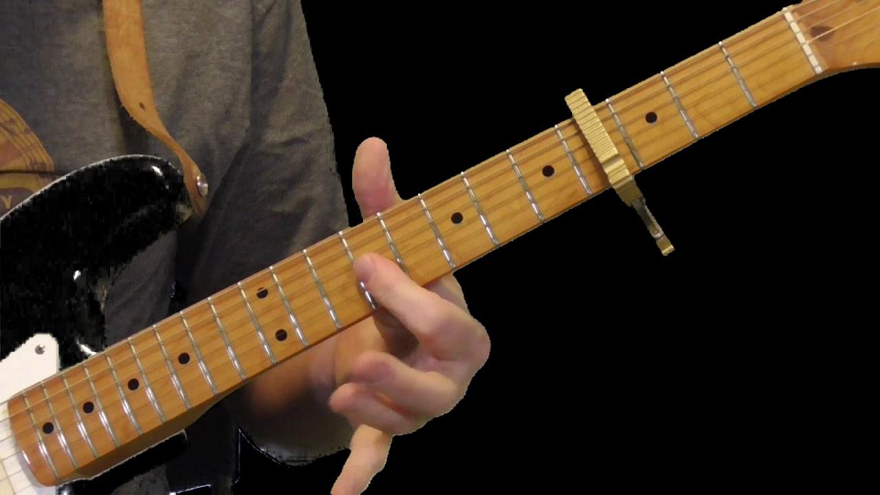 Texas Flood Guitar Lesson   Original Intro