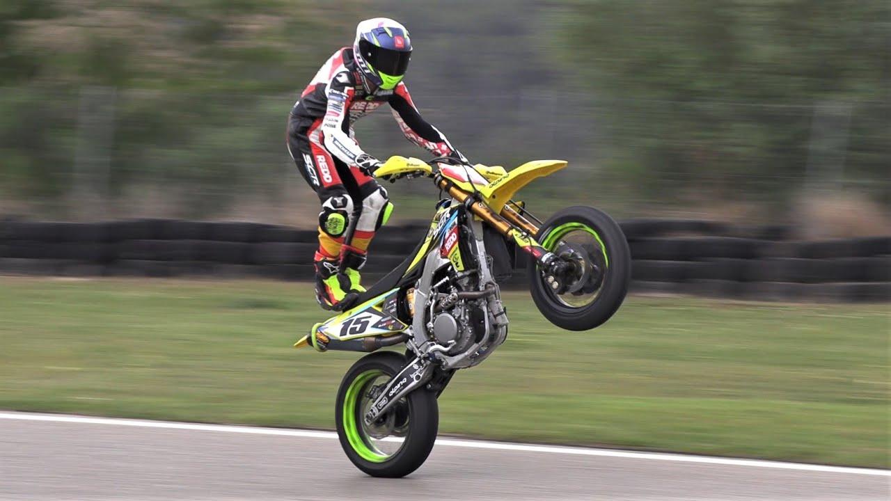 Supermoto Mora d'Ebre 2021 | Top Speed & Wheelie Show by Jaume Soler