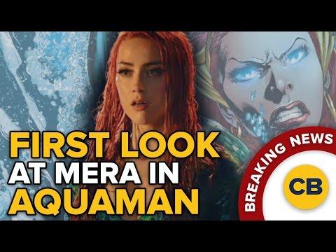 BREAKING: First Look at Mera in Aquaman