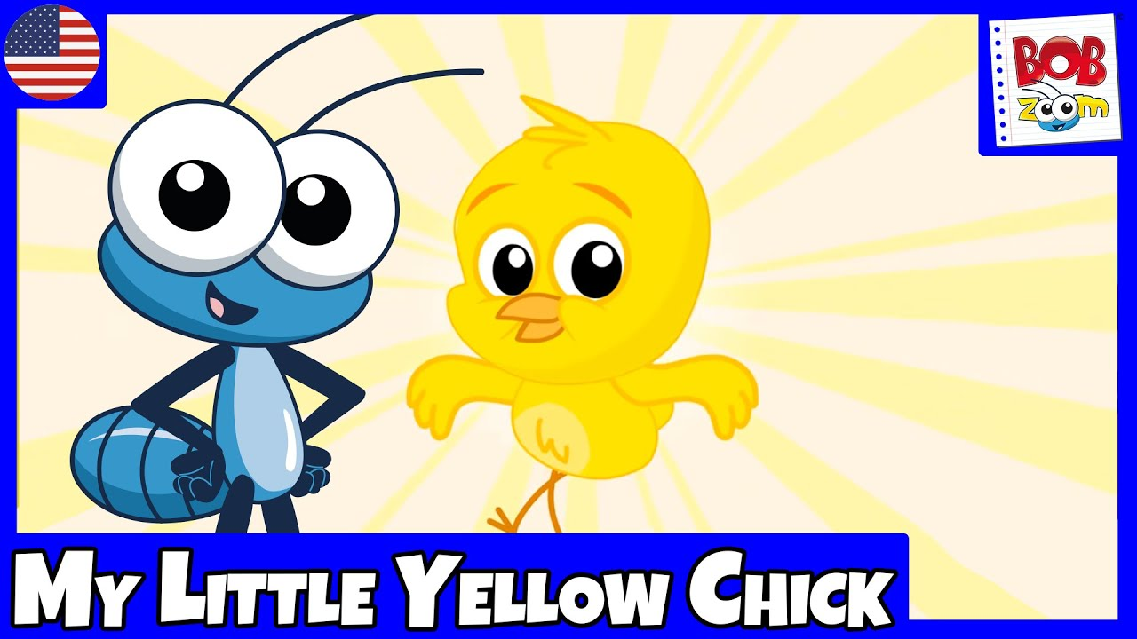 Bob Zoom - My Little Yellow Chick - English