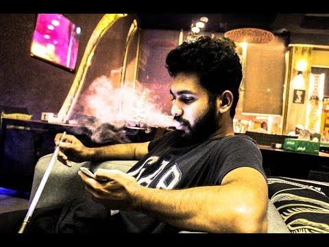 Shisha smoking in Dubai 60fps recording KN Vlog