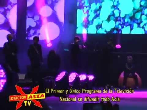 TEEN TOP EN CONCIERTO LIMA PERU ESTACION ASIA TV