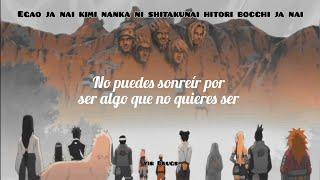 DISH// - I Can Hear [Naruto Shippuden ED 25]  Subtitulada En Español + Letra