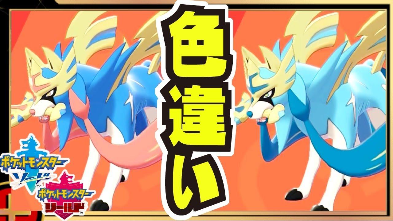 ポケモン剣盾 X 色違い