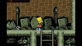 The Simpsons Night of the Treehouse of Horror (Game Boy Color) with commentary
