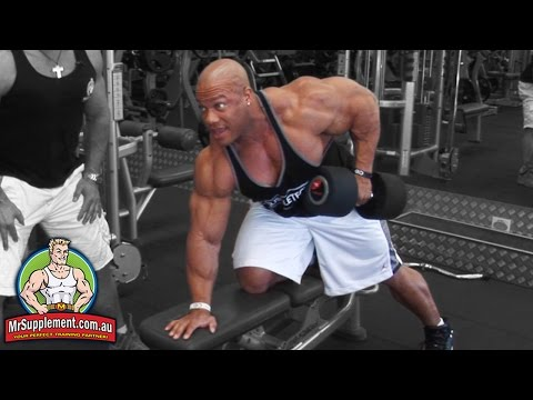 Phil Heath's Dumbbell Row | Back Exercise #2
