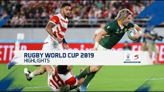 Rugby World Cup | QF 4 | Japan v South Africa | Highlights
