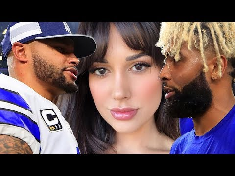 Odell Beckham Spotted Getting TOUCHY With Dak Prescott's Bae!