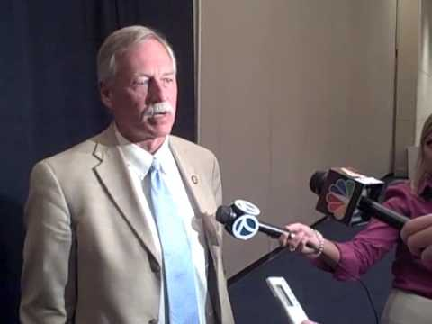 U.S. Rep. Vic Snyder Talks Health Care Reform After An Event in Little Rock