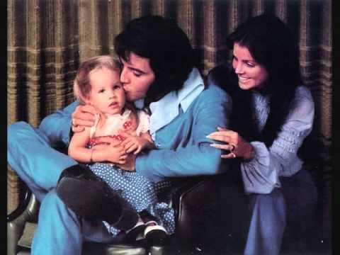 Lisa Marie, Elvis & Priscilla at 1174 Hillcrest Drive in Los Angeles, December 10th, 1970
