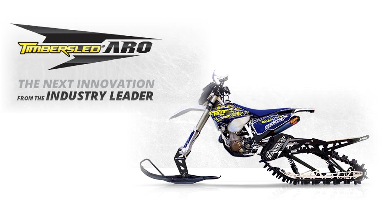 2018 Timbersled Aro Snow Bike Kits Okanagan Snow Bikes Kelowna