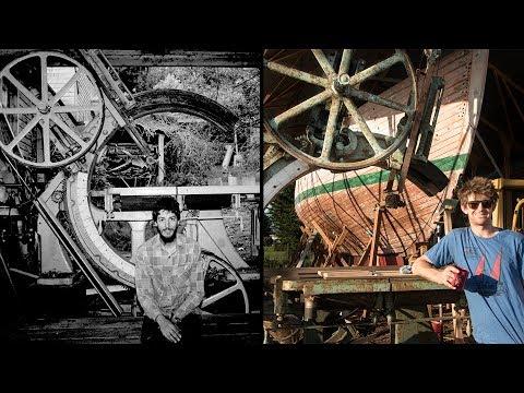 Restoring a HUGE vintage Ship Saw / Bandsaw - Rebuilding TALLY HO EP22