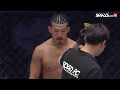 XIAOMI ROAD FC 040 PART 2 KIM CHANG-HYUN(김창현) VS MANSOUR BARNAOUI(만수르 바르나위)