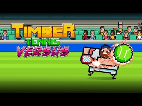 Timber Tennis: Versus (Switch) First 14 Minutes on Nintendo Switch - First Look - Gameplay