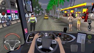 Uzun Şehir Otobüs Şöförü 🚍🔥 Otobüs Simulatör : Ultimate Multiplayer! Otobüs Oyunları Android screenshot 1
