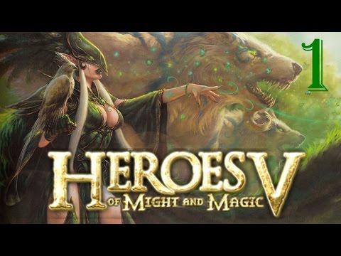 Прохождение Heroes 5: Epic War Age #1 -  День Огненных Слёз