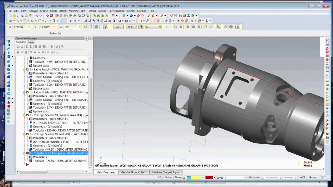 Mastercam Mill Turn Webinar - Brought to you by Cimquest and CNC Software
