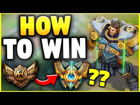 Here Is What You Need To Know To Win In Ranked In Season With Garen