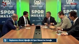 Başkanımız Ahmet Ağaoğlu AA Spor Masası'nın konuğu thumbnail
