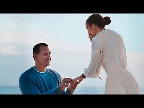Randi West - Pictures of the moment Jennifer Lopez said YES to A-Rod