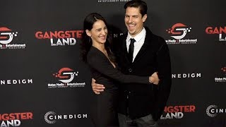 """Sean Faris and Cherie Daly """"Gangster Land"""" Premiere Red Carpet"""
