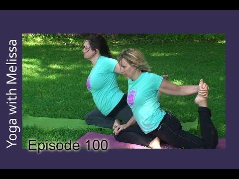 Yoga with Melissa 100 Yoga of Emotions: Joy and Gratitude