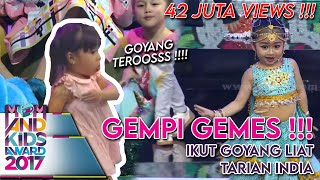 Download lagu Lihat Chico Radella Goyang, Gempi Ikutan Goyang  - Mom & Kids Awards 2017 (13/12)