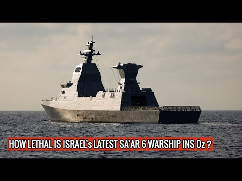 Israel's #INSOz Sa'ar-6 warship is powerful enough to hold its own against whole Iranian Navy !