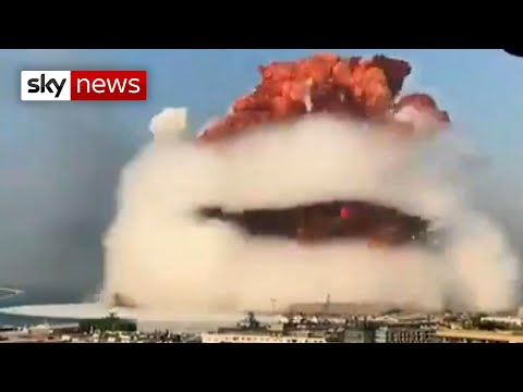 RAW VIDEO: Beirut blast caught on camera