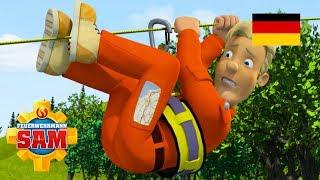 Feuerwehrmann Sam Deutsch Neue Folgen | Seil hängen - 1 Stunde Feuer 🚒 Kinderfilme