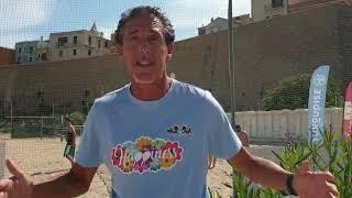 Matteo Carponi alla Cala Sveva Beach club