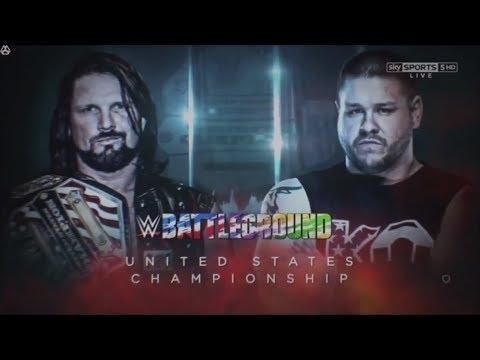 WWE Battleground 2017 Official and Full  Match Card