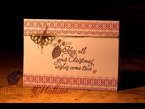 Day 27 - Stampin' Up! new catalog launch with Hedgehog Hollow Page 26